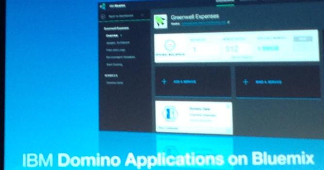2015年4月22日14時から「IBM Dominoアプリケーション on Bluemix」のセッションを行います