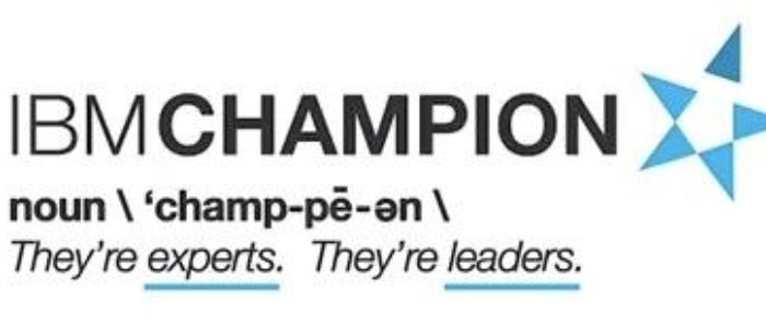 IBM Champion 2016のノミネーションは2015年10月31日まで