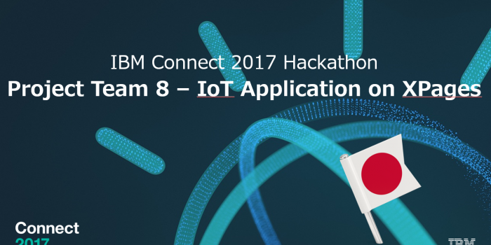 IBM Connect 2017 Hackathon – Japan Team